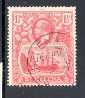 ST HELENA, 1922 1½d Very Fine Used - Sint-Helena