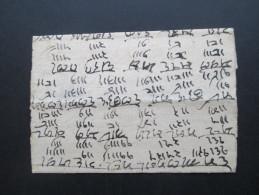 Indien Vorphila 1781 (?) Brief Mit Stempel. Interessant?? - Indien