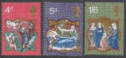 Great Britain. 1970 Christmas. MNH Complete Set. SG 838-840 - 1952-.... (Elizabeth II)