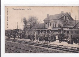 WOINCOURT : La Gare - Tres Bon Etat - France