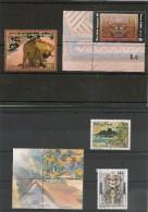 POLYNÉSIE Tableaux Années 2003/2004 N°Y/T :696-698-702/04-706/07** - Collections, Lots & Séries