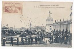 NANTES. - EXPOSITION DE NANTES 1904. - N° 47 - Un Lâcher De Pigeons Devant Le Grand Palais - Nantes