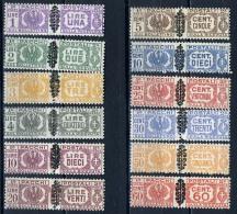1945  - Italia - Italy - Catg. Sass.  48/59 - LH - (W12022012.. - Pacchi Postali