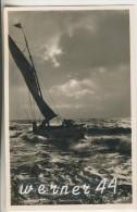 Kolberg V.1941 Fischerboot In Der Brandung  (18201) - Pommern