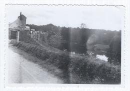 Photographie Ancienne, Années 30, Anonyme, Bord De L'Oust à L'entrée De La Ville Josselin (Morbihan, Bretagne), Panne... - Places