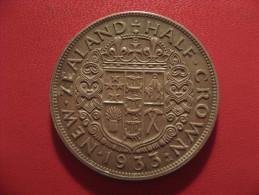 Nouvelle-Zélande - Half Crown 1933 George V 5271 - Nouvelle-Zélande