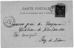Lourdes Hautes Pyrénées Précurseur Circulé 1900 état Superbe - Lourdes