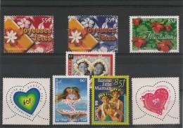 POLYNÉSIE Timbres De  Message Années 1999/2006  Tous** - Collections, Lots & Séries