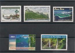 POLYNÉSIE Paysages  Année 2003/06  Tous ** - Collections, Lots & Séries