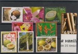 POLYNÉSIE Flore  Années 1999/2009  Tous ** - Collections, Lots & Séries
