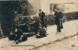 GUERRE 1914-18 - BELGIQUE - Retraite D' Anvers , Arrière Garde Belge - Weltkrieg 1914-18