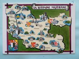 V08-54-la Lorraine Mosellane--villes-chateaux-blasons - Frankreich