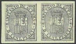 ESPAÑA 1874 #EDIFIL 141 Sin Goma  Precio Cat. €24.00 - 1873-74 Regencia