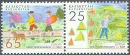 EUROPA CEPT - KAZAKHSTAN 2007 #Yvert 495/6** Precio Cat.€2.00 - Europa-CEPT