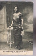 Mademoiselle Irma LOUSTAU . Sujet Scientifique . - Personnages Historiques