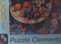 """Puzzle Clementoni  Art """" Pot Pourri """"  500 Pièces Complet  BE - Puzzles"""