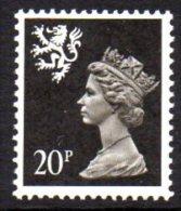 GB Scotland 1971-93 20p Regional Machin, Phosphor, MNH (SG64) - Regional Issues