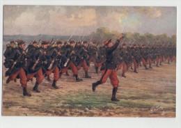 INFANTERIE En Ligne - Tuck - En Parfait état - Guerre 1914-18 - 1914-18