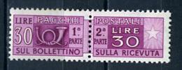 1946/51  - Italia - Italy - Catg. Sass. 75 - LH - (W12022012.. - Pacchi Postali
