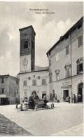 Marche-ancona-serra San Quirico Piazza Del Municipio Veduta Animata - Italia