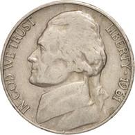 États-Unis, 5 Cents Jefferson, 1961 D, Denver, KM A192 - Emissioni Federali