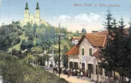 MARIA TROST - G.Hütters Gasthaus, Sehr Seltene Schöne Karte, Gel.1917, Mit Marke - Unclassified