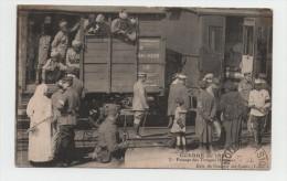SNCF- TRAIN- PARIS - Passage Des Troupes Hindous - Guerre 14-18 - 1914-18