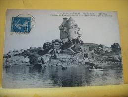"""22 273  - PLOUMANACH  - CHATEAU DE COSTAERES, OU FUT ECRIT """"QUO VADIS"""" PAR SIENKIEWICZ - 1921 - AUTRE VUE - Ploumanac'h"""