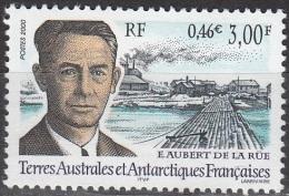 TAAF 2001 Yvert 276 Neuf ** Cote (2015) 2.50 Euro Edgar Aubert De La Rue - Terres Australes Et Antarctiques Françaises (TAAF)