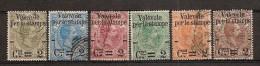 ITALIA REGNO - 1890 Valevole Per Le Stampe Unificato Nr  50/55  Usati - 1878-00 Umberto I