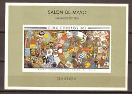 Cuba 1967 Yvertn° Bloc 29*** MNH Cote 22,50 Euro Salon De Mayo - Blocs-feuillets