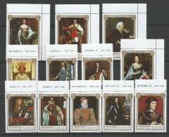 MANAMA - MNH - Famous People - Art - Painting - Richard II - Elizabeth I - Famous People