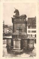 Réf : OR-15-184 : SAVERNE  FONTAINE DE LA LICORNE - Cartes Postales