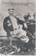 Sa Majeste SISOWATH Roi Du Cabodge Kampuchea En Costume De Ville Ornat Orden Ungelaufen - Kambodscha
