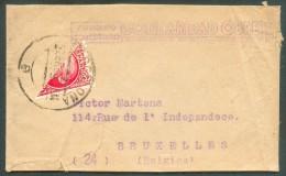Bande D´imprimée De BARCELONA Le 21 Janvier 1938 Affranchie D´un Demi-timbre Vers Bruxelles - 10885 - 1931-Aujourd'hui: II. République - ....Juan Carlos I