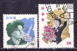 Astronauta Tereshkova Germania DDR -1963 Usati - Space