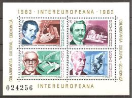 Rumänien 1983 - Block Intereuropeana - Blocchi & Foglietti