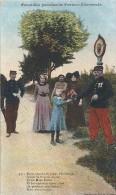 A 1325  FRONTIERE FRANCO ALLEMANDE - Patrióticos