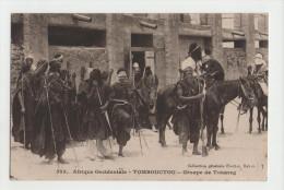 Militaire - Afrique Occidentale - TOMBOUCTOU - Groupe De Touareg - Guerre 14-18 - 1914-18