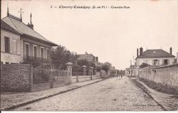 """CHEVRY COSSIGNY """" GRANDE RUE """" - Altri Comuni"""
