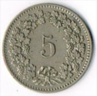 Switzerland 1901 5c - Switzerland