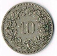 Switzerland 1902B 10c - Switzerland