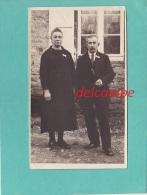 CPA Photo  -  CHEMERY -  Couple à Identifier -  éditeur  Photo Marcel Patez Chemery - France
