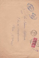 AFFRANCHISSEMENT   PAIRE N° 514 TYPE HOURRIEZ - Postmark Collection (Covers)