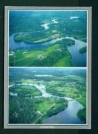 FINLAND  -  Kiiminki  Dual View  Used Postcard As Scans - Finland