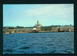 FINLAND  -  Helsinki And The White Cathedral  Used Postcard As Scans - Finland