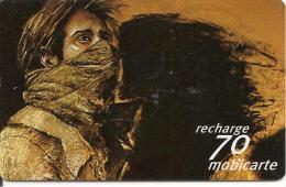 CARTE-MOBICARTE-70F-MOBI-PU86-HOMME MASQUE--TBE-RARE - France