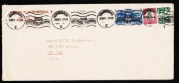 1941. ½ + 1 + 3 D JOHANNESBURG SEND GREETINGS TELEGRAMS 24.XII.41. Christmas Evening.  (Michel: 145+) - JF177240 - Briefmarken