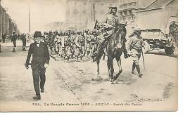 Guerre 1914    Amiens   Arrivée Des Turcos - Oorlog 1914-18