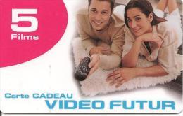 CARTE-GFIT-VIDEO FUTUR-5 FILMS-TBE - Frankrijk